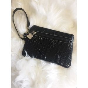 Patent Leather Wristlet